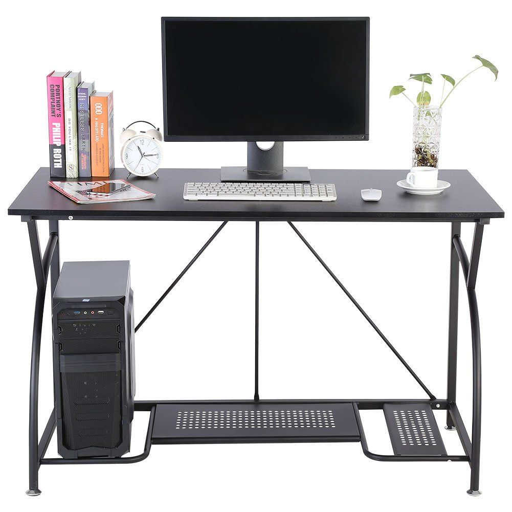 Computer Desk Basic Home Office Table Laptop Luxurious Large