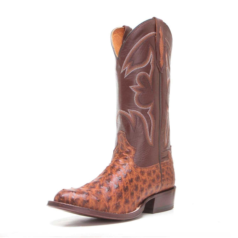 e33d6e199ba Tony Lama Mens Full Quill Ostrich Cowboy Boots TL5353 | Cowboy Boots ...