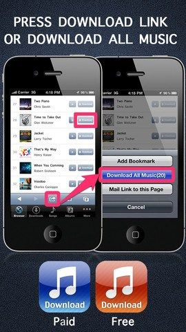 Free Music Download Pro for iPhone and iPad Probably the