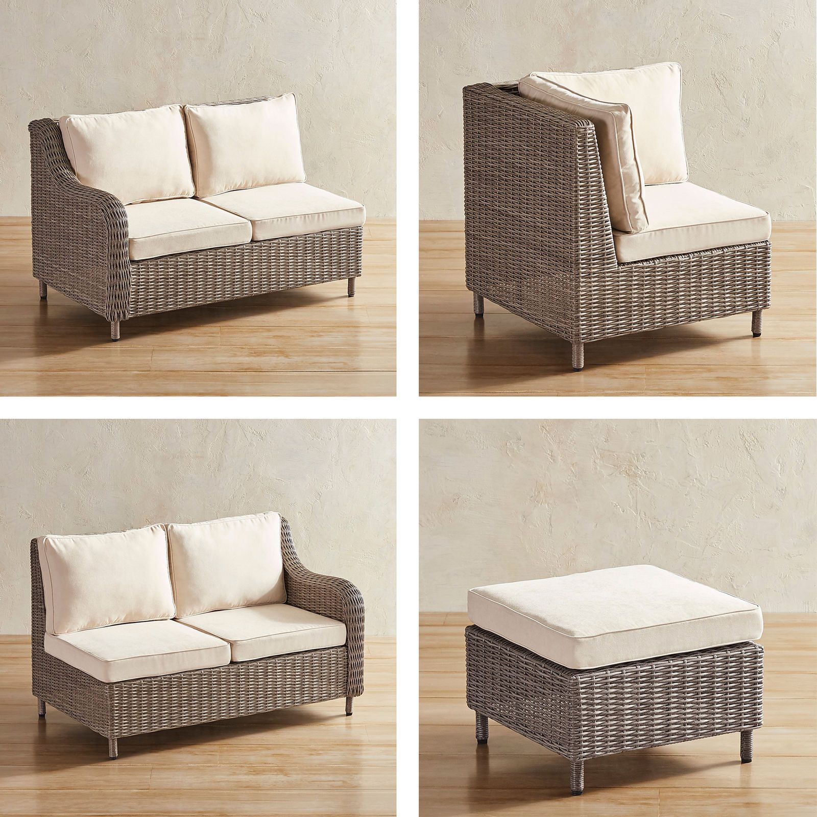 Crestview Gray Build Your Own Sectional - Pier 1 Imports