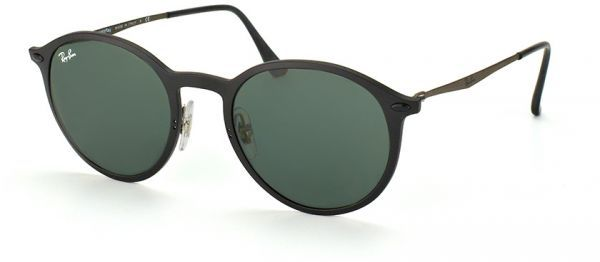 466368d39a3 Ray-Ban Unisex Round Light Ray Sunglasses- Black