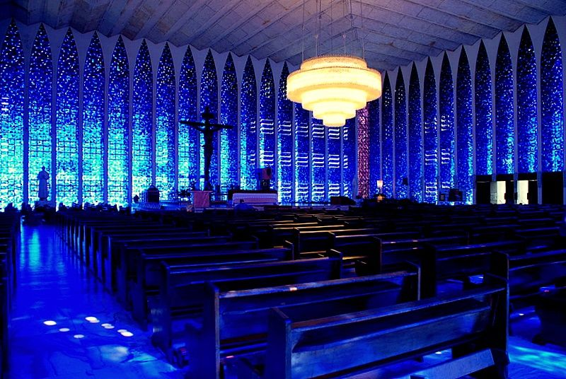 Dom Bosco blue Catedral