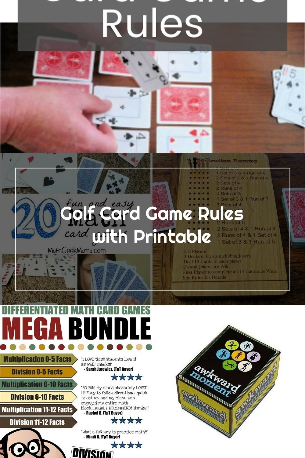 32++ Card game golf rules 4 card information