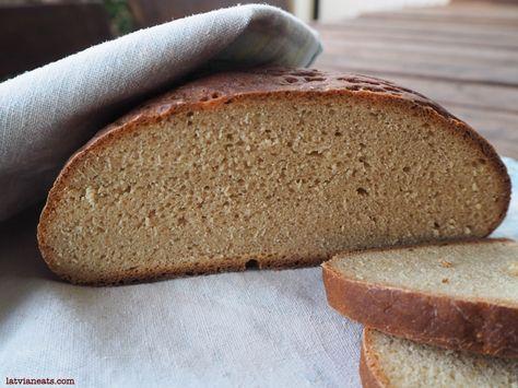 Traditional rye bread | latvianeats.com