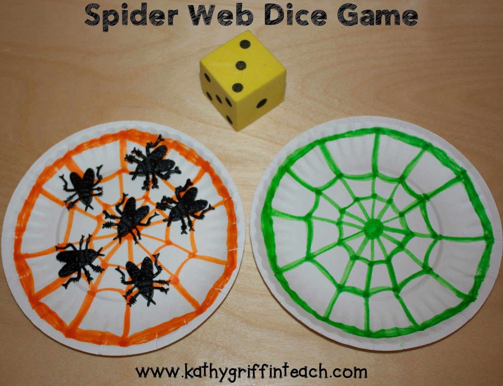 Part Part Whole Spider Web Math