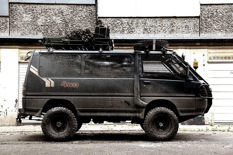 Post Apocalyptic Delica Toyota van, Vans, Van life