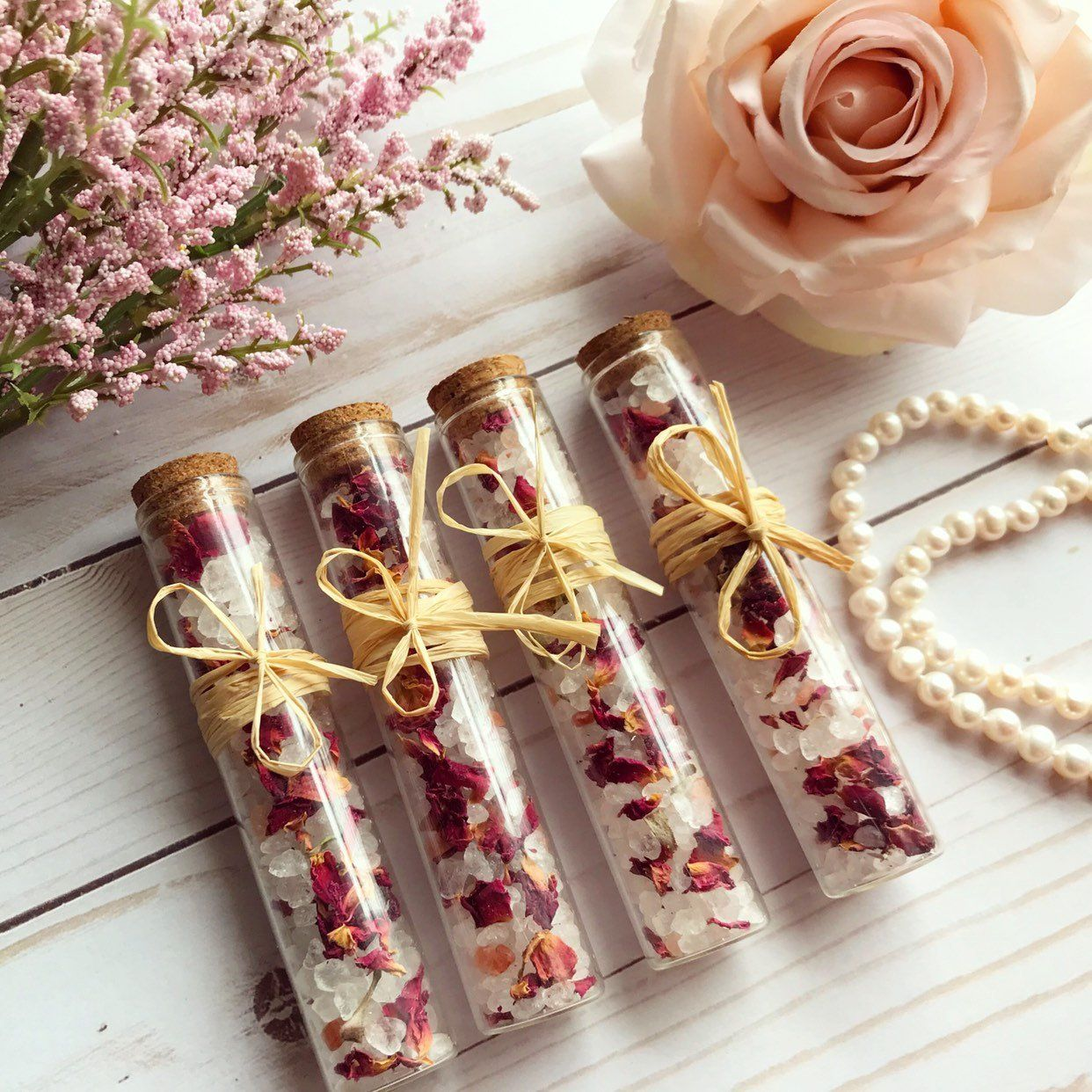 Burlap party favor bags rustic bridal shower favors