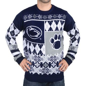 Penn State Nittany Lions Ugly Christmas Sweater Sports Team Ugly