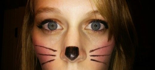 Cat makeup #Halloween