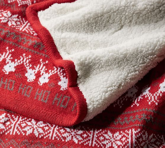 Oakley Plaid Sherpa Back Throw Knitted Throws Velvet