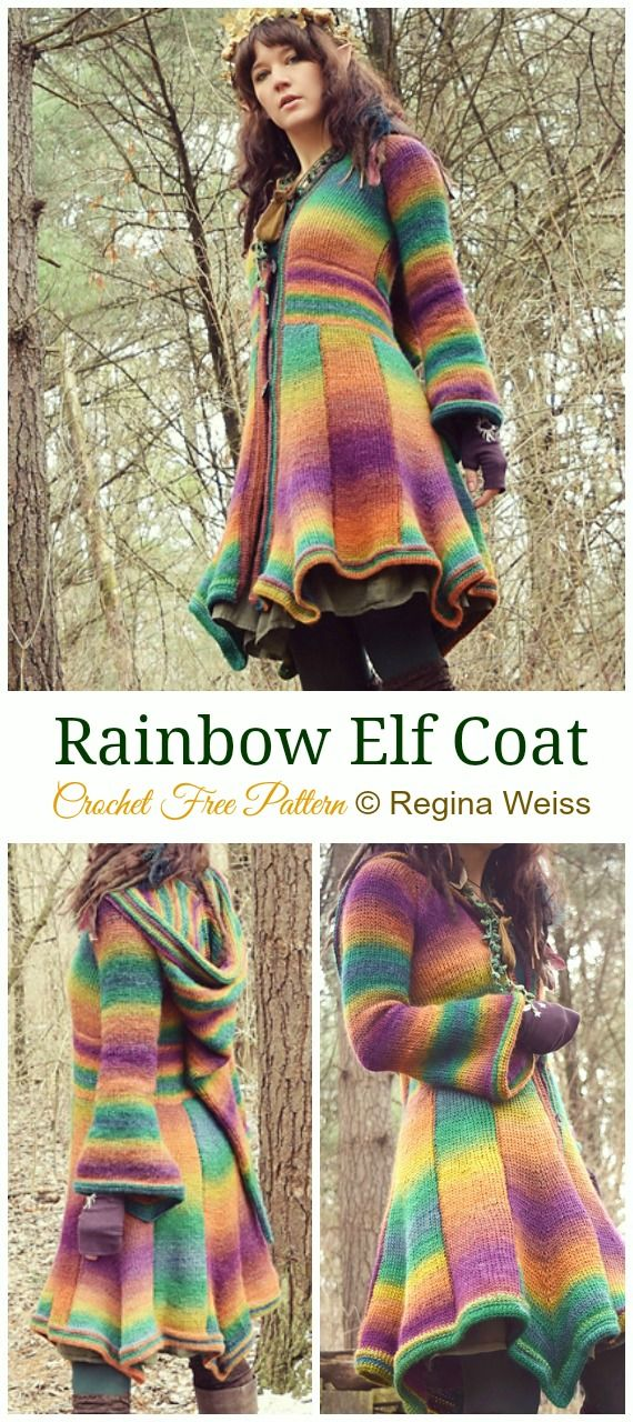 45 Crochet Women Sweater Coat Cardigan Free Patterns [Open Front] -   16 knitting and crochet Patterns sweater coats ideas