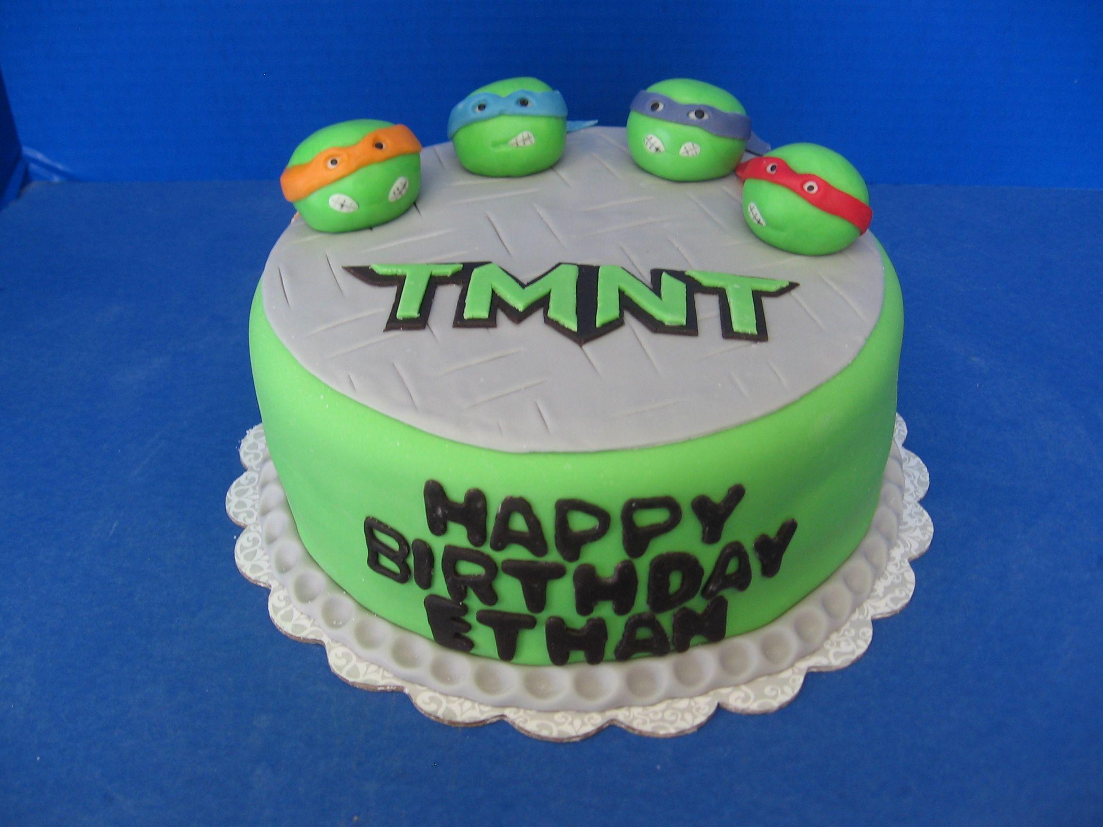 Teenage Mutant Ninja Turtle Cake Sweets to the Sweet Cakes