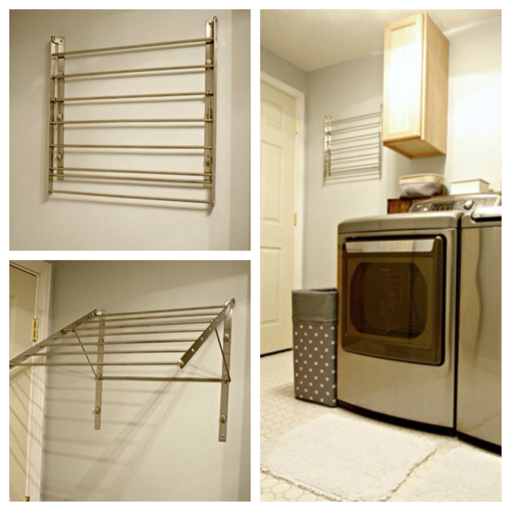New Towel Rack And Other Updates To Our #basement #laundry