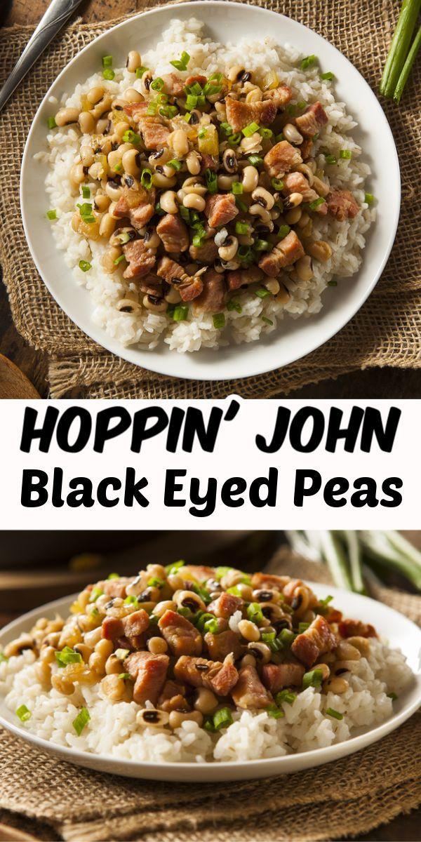 Hoppin' John: Black Eyed Peas