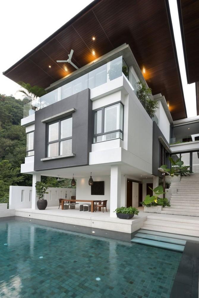 Modern Small House Exterior Dream Homes 18 Www Tasisatap Com Small House Exteriors House Designs Exterior Modern Tropical House