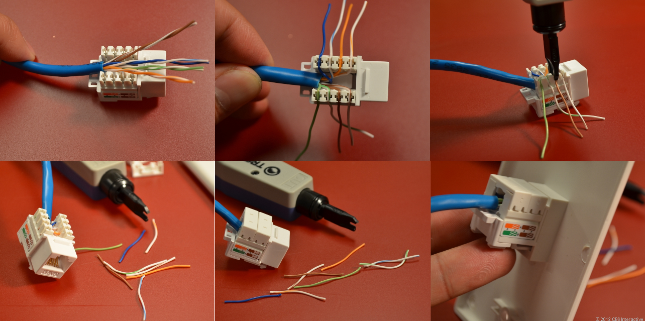 [SCHEMATICS_48ZD]  Home networking explained, part 3: Taking control of your wires   Internet  wire, Home network, Ethernet wiring   Network Jack Wiring      Pinterest