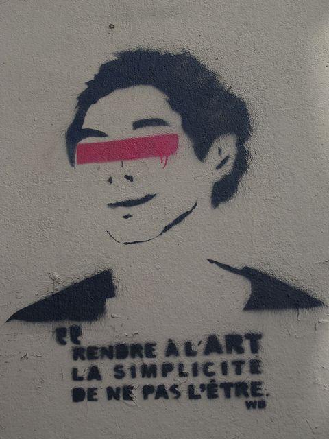 """""""De ne pas l'Etre"""" - Street Art"""