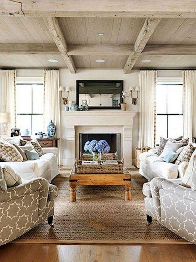 95 Good And Eye Catching Coastal Living Room Decor Ideas Coa