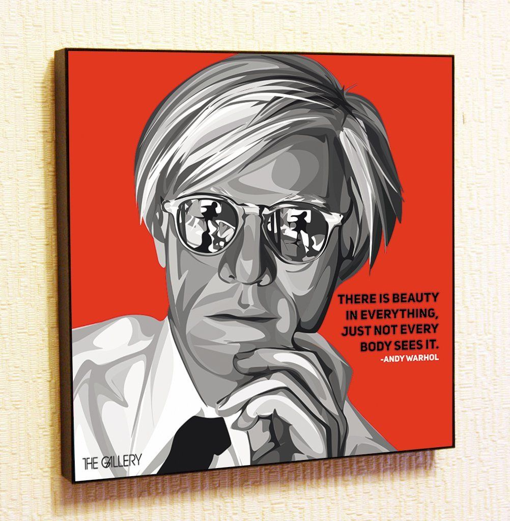 Andy warhol decor motivational quotes wall decals pop art gifts andy warhol decor motivational quotes wall decals pop art gifts portrait framed famous paintings on acrylic jeuxipadfo Image collections