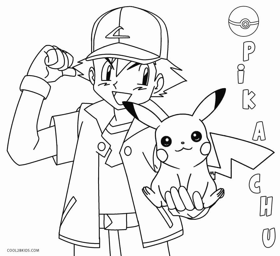Detective Pikachu Coloring Page Luxury Printable Pikachu