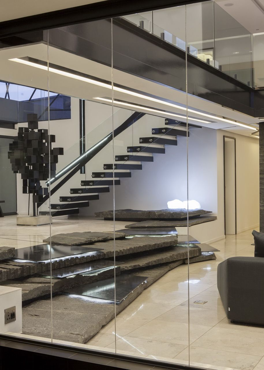 House Ber Entrance Hall Nico Van Der Meulen Architects - Contemporary glass residence