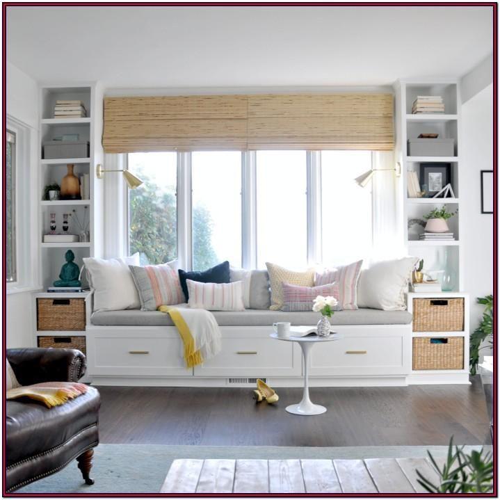 Bay Window Seat Ideas Living Room In 2020 Window Seat Design Storage Bench Seating Living Room Diy