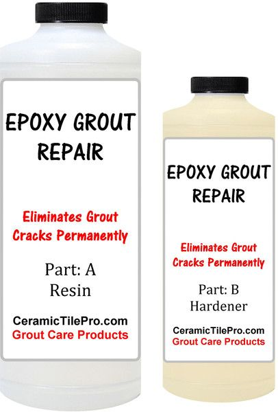 Epoxy Grout Repair Kit 6 Oz Fixes All Types Of Grout