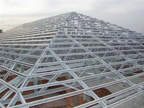 Lightweight Steel Roof Trusses By Lc Steel System Arsitektur