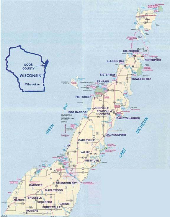 Door County And Washington Island