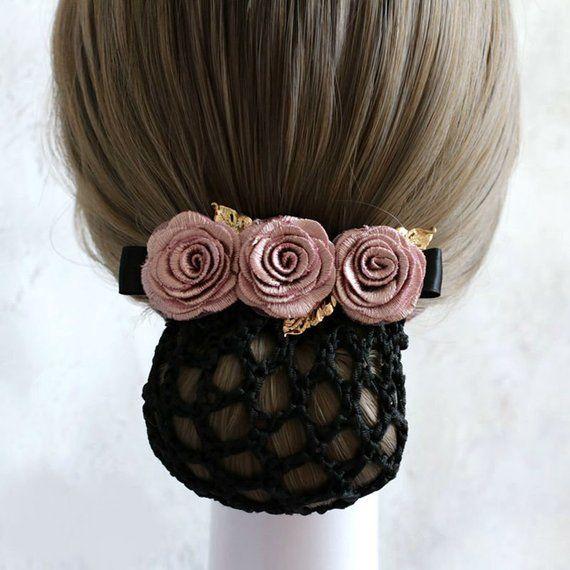 Elegant Big Blooming Flower Wedding Bridal Hair Clip Cute Headband BarrettesJC