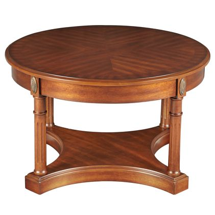 Athena Coffee Table Antique Cherry With Images Coffee Table