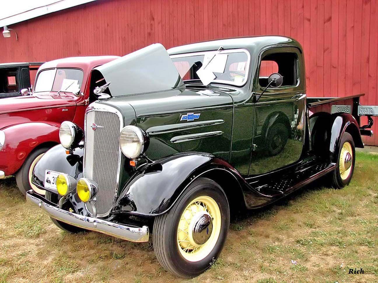1936 Chevy Pickup Classic Pickup Trucks Classic Cars Trucks