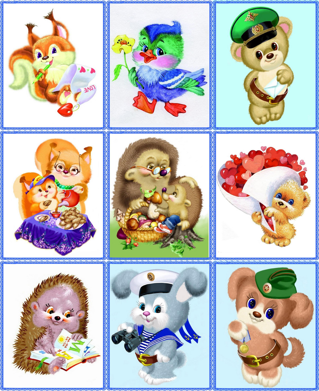 Картинки на шкафчики для детского сада (35 фото) | Детский ...