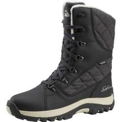 Photo of Mckinley women's winter boots Nicole Aqx W, size 40 in dark gray / melange / white / cream, size 40 in du