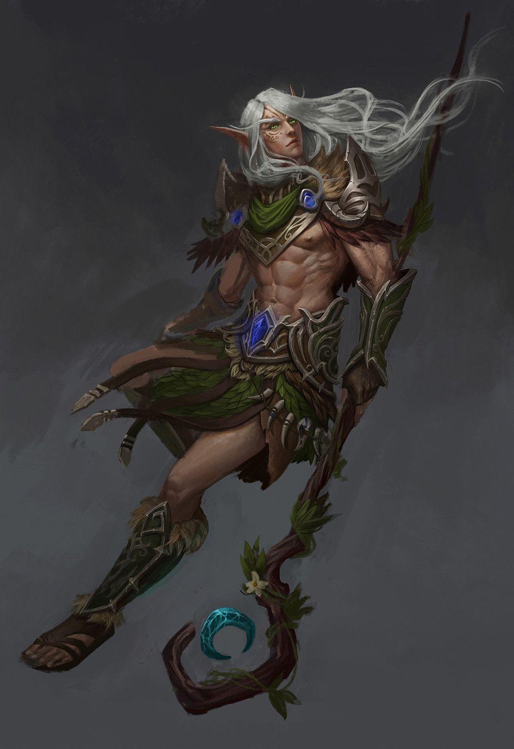 Image Result For Wood Elf Druid Female Fantasy Art 5