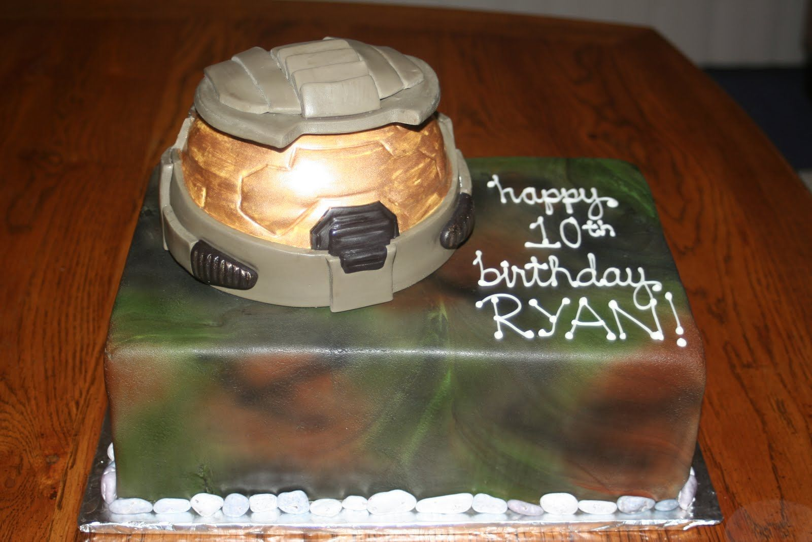 Halo Birthday Party Halo Birthday Cakes Halo Birthday