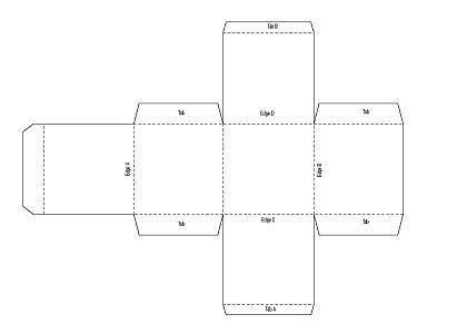 Moldes para cajas de carton corrugado imprimibles - Imagui