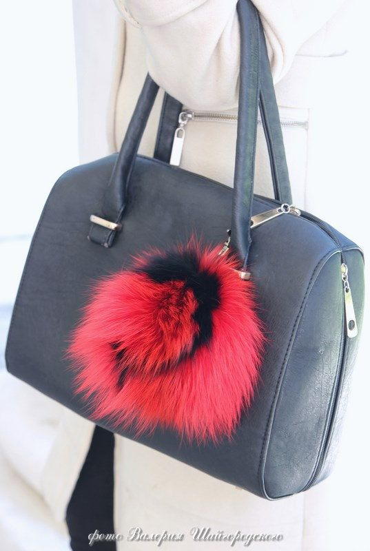 Real fur bag charm fur keychain fur pom pom fur by FurForestfox a6c0c11e8dda5