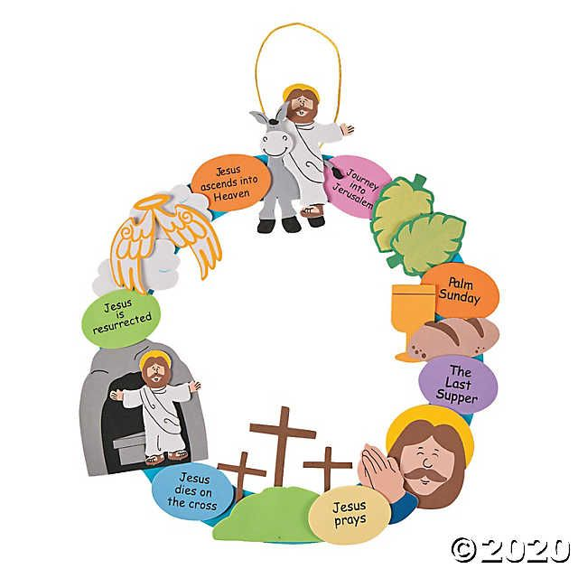 Photo of Holy Week Wreath Craft Kit | Oriental Trading