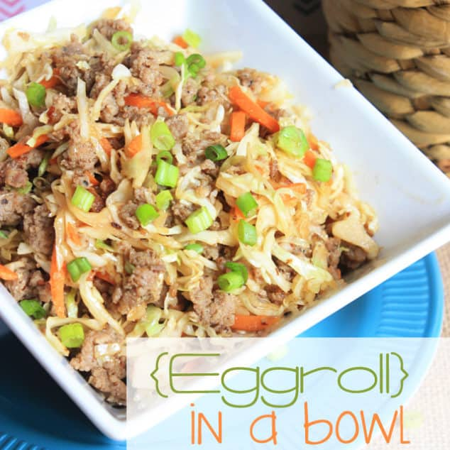 Photo of Eggroll In A Bowl – VIDEO