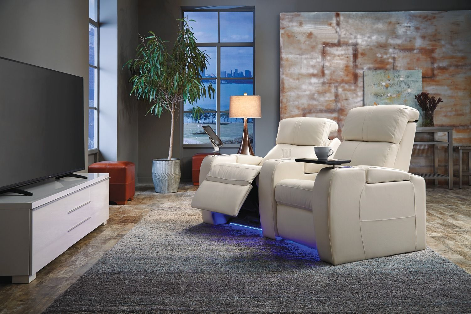 Modern Furniture New Orleans palliser flicks media room theater seating metairie new orleans