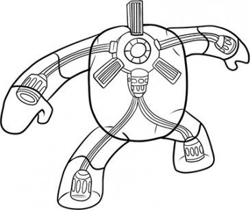 Worksheet. How to Draw a Robot  View bigger  How to draw robots for Android