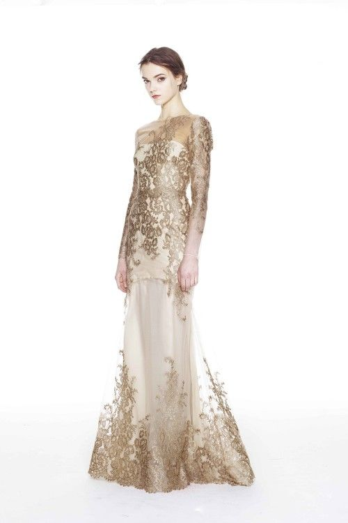 Another dream wedding gown :) Marchesa | Collections | Marchesa-notte | Pre-Fall 2014 | Collection #33