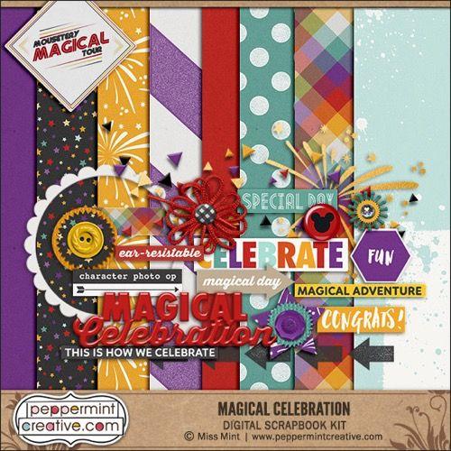 Free Peppermintcreative Disney Scrapbook Magical Celebration Free