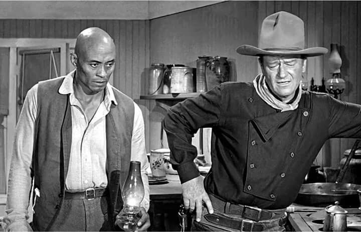 Wild West Saturday - Woody Strode and John Wayne in The Man Who Shot Liberty Valance (1962).