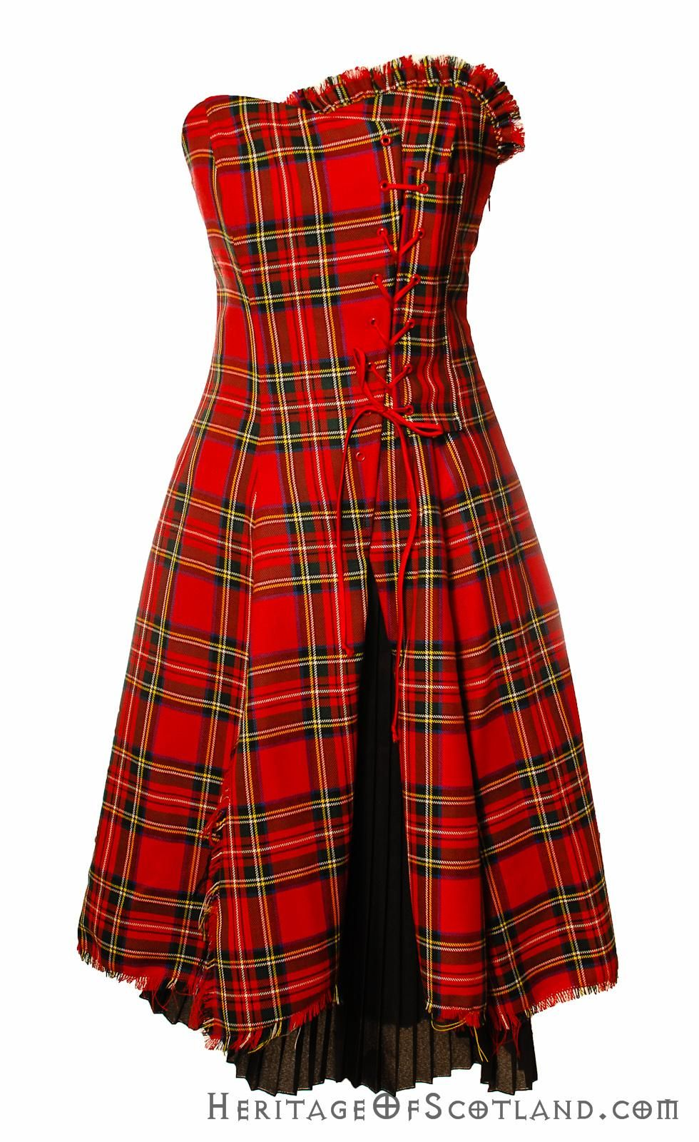 1000  images about Scottish Tartan Corsets Bustiers and Dresses ...