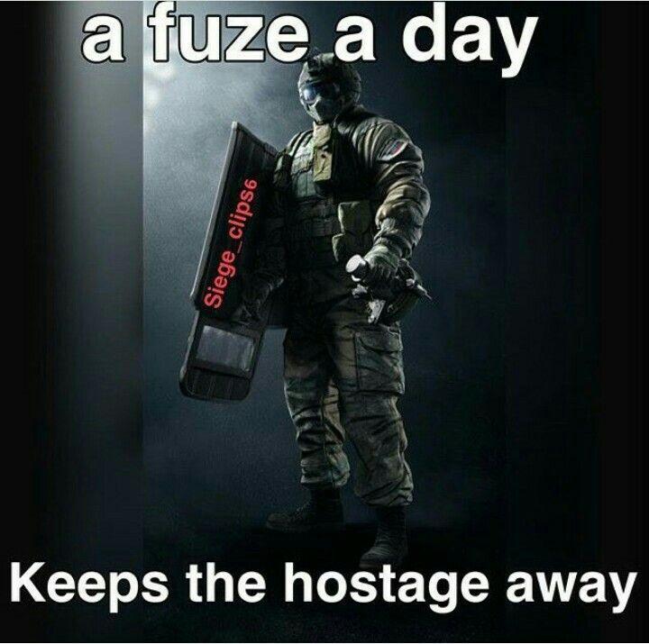 Siege Rainbow 6 Fuze Meme