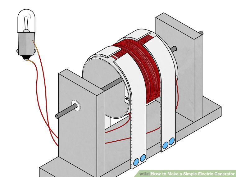 simple electric generator. How To Make A Simple Electric Generator: 15 Steps (with Pictures) Generator