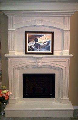 Mantel Floor To Ceiling Fireplace Update Mantels Fireplaces Fire Places