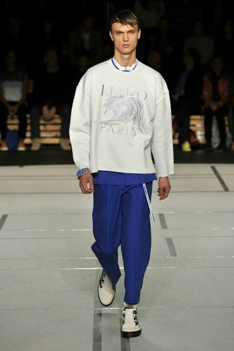 Kenzo Men's Collection spring 2014